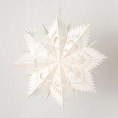 Swedish Snowflake Lantern