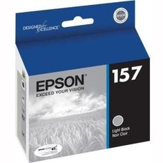 Epson UltraChrome K3 T157720 Ink Cartridge - Light Black - Inkjet. Created to redefine fine art printing, this UltraChrome K3 Light Black ink cartridge offers superior water, scratch and fade resistance that professionals demand for exhibition quality prints. Epson UltraChrome K3.