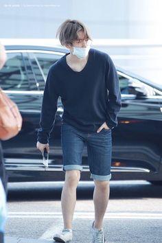 Baekhyun | 150619 Incheon Airport departing for Bangkok