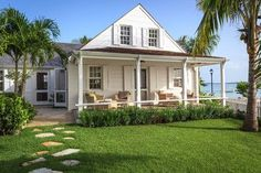 Fort Point Cottage, Harbour Island, The Bahamas tropical porch  ~ Great pin! For Oahu architectural design visit http://ownerbuiltdesign.com