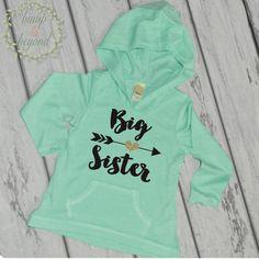 Big Sister Shirt, Big Sister Little Sister Outfits, Big Sister Announcement Shirt, Big Sister Outfit, Big Sister Gift