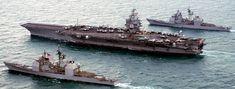 USS Enterprise CVN-65 Aircraft Carrier US Navy Uss Enterprise Cvn 65, Star Trek Enterprise, Star Trek Voyager, Us Navy Aircraft, Navy Aircraft Carrier, Tiger Cruise, Naval Station Norfolk, Subic Bay, World Cruise