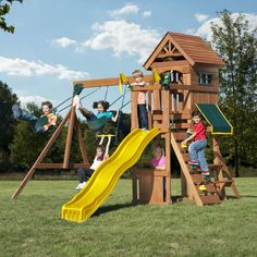 Shop Wayfair for Wood Swing Sets to match every style and budget. Enjoy Free…