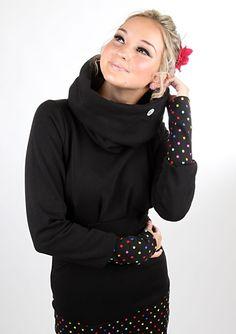 Entdecke lässige und festliche Kleider: Letztes Stück Gr. S Minikleid KASCHL_1/Pbunt made by meko Store via DaWanda.com