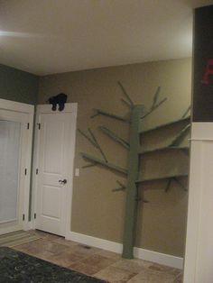 Girl in Air: Make a Tree Bookshelf (knock off of the Shawn Soh bookshelf)