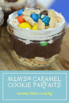 M&M's Caramel Cookie