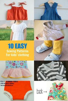 Get access to 15 amazing free sewing patterns to create and enjoy a spring wardrobe for your kids. On the Cutting Floor, free sewing patterns and tutorials