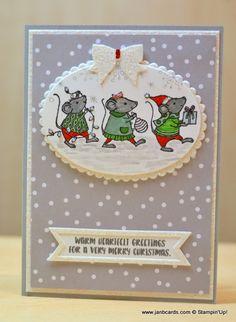 JanB Handmade Cards Atelier: Merry Mice