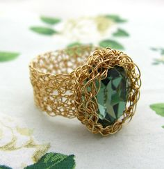 Wire Crochet Ring Jewelry