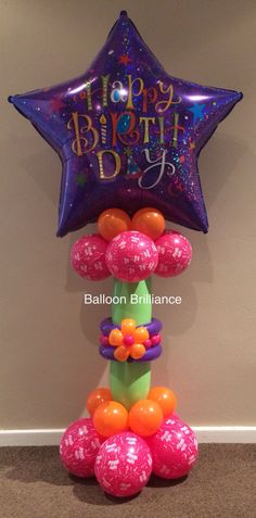 Happy Birthday Balloon Delivery Happybirthday Canberra Act BalloonBrilliance