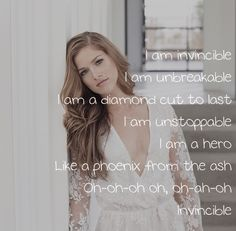 I am Invincible ~ Cassadee Pope