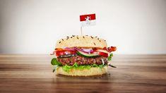 Birkenstock Cheesburger mit Kartoffelecken Birkenstock, Hamburger, Sandwiches, Ethnic Recipes, Food, Food And Drinks, Food Food, Food Recipes, Roll Up Sandwiches