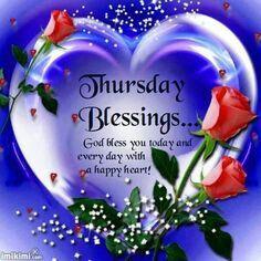Thursday Blessings!!!