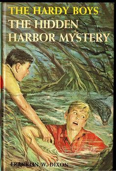 The Hardy Boys ... had such a big crush on the characters. :-)