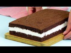 Kinder delice torta - Óriási tejszelet! Piskóta amely elolvad a gyerek szájában! | Ízletes TV - YouTube