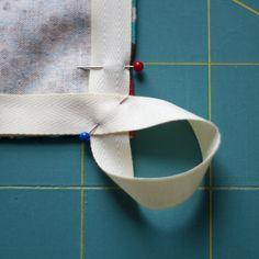 tea towels...  like the hang loop part