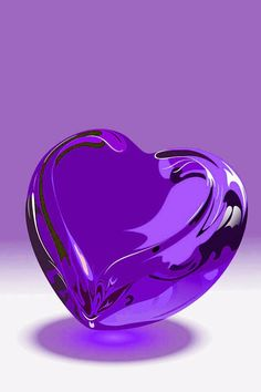 Glossy My Dream Everything Made of Hearts Purple love, Heart violet color heart images - Violet Things Purple Love, All Things Purple, Shades Of Purple, Pretty In Pink, Purple Rain, Color Shades, Heart Wallpaper, Love Wallpaper, Tiffany Blue