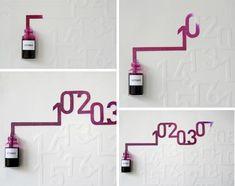 wall calendar design idea