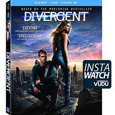 Divergent (Blu-ray + DVD + Digital HD) (Widescreen)