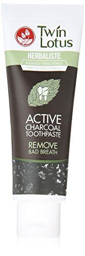 Twin Lotus Active Charcoal Toothpaste Herbaliste Triple A... https://smile.amazon.com/dp/B00XNMDQ2G/ref=cm_sw_r_pi_dp_x_K0RmybE658W6N