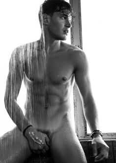 Lean, perfect guy naked, cupping his junk. Say hi, dude 🙋🏽♂️ More hot men Beautiful Lips, Beautiful Men, Simply Beautiful, Men In Shower, Turn Photo Into Painting, Le Male, Man Photography, Male Form, Models
