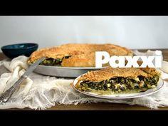 Σπανακόπιτα με παραδοσιακό χειροποίητο φύλλο - Paxxi Ε49 - Spinach pie with homemade filo pastry - YouTube Spinach Pie, Easy Meals, Easy Recipes, Menu, Snacks, Dinner, Cooking, Breakfast, Essen