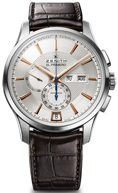 Zenith Captain Winsor.  Collaboration with the MIH (the Musée International d'Horlogerie) a great annual calendar with legendary el primero movement