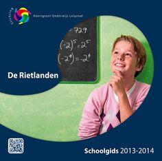 Schoolgids De Rietlanden schooljaar   2013 - 2014