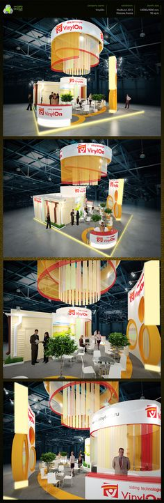 VinylOn on Behance Exhibition Booth Design, Exhibition Display, Exhibition Stands, Exhibit Design, Stand Design, Moscow, Promotion, Dog Cat, Korea