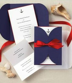 @Abbey Krystowiakiak I found your perfect wedding invites.  Now to find that perfect man... :) Nautical Wedding Invitations | Blue Wedding Invitations | Striped Wedding Invitations