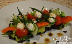 Греческий салат по-новому | Кулинарные рецепты от «Едим дома!»