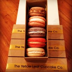 Assorted Macaron box from #yellowleaf #seattle