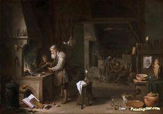 David Teniers II - The Alchemist