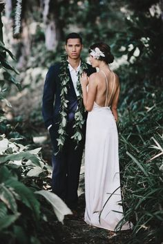 Classic Hawaiian Elegance | Image by June Photography