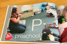 Азбука с фотографиями.  Personalized Alphabet Book.