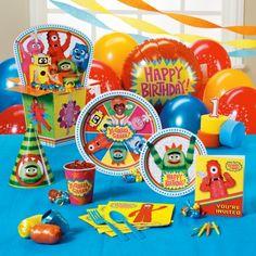 Yo+Gabba+Gabba!+1st+Birthday+Party+Supplies