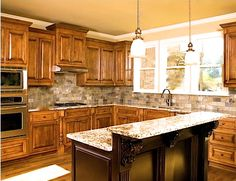 attractive kitchen www.leovandesign.com