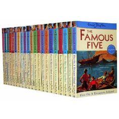 Famous Five Series 21 Books Set 1 To 21 - Enid Blyton