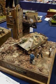 Military Tank Model.