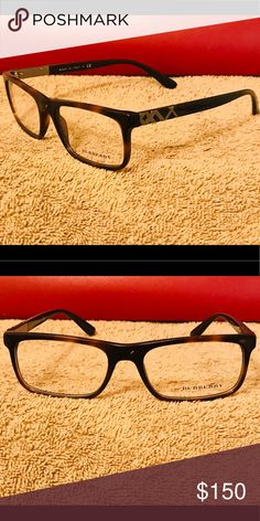 cd137adc772 Authentic Burberry Eyeglass Frames Tortoise Shell Brown Burberry  Accessories Glasses Tortoise Shell