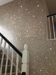 Holographic Floor Salon Design Glitter Floor House