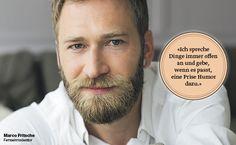 Offen und ehrlich mit einer Prise Humor. Moderator Marco Fritsche sagt gerne was er denkt.