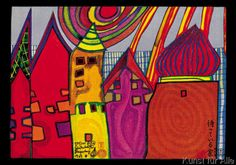 Friedensreich Hundertwasser - waiting houses