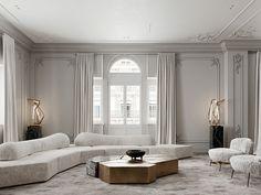 Enhance Your Senses With Luxury Home Decor Home Room Design, Home Interior Design, Living Room Designs, Neoclassical Interior Design, Top Interior Designers, Rooms Decoration, Decoration Design, Luxury Home Decor, Luxury Homes