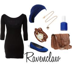 Ravenclaw has the best colors to wear.
