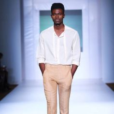 Whomever thinks men can't wear pink are wrong Designer @Kelechiodu presented at @lfdw2012 very sexy Photos by Insigna
