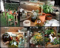 Herbalist's table