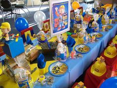 """ Tools, Trucks & Hardhats......"" by Treasures and Tiaras Kids Parties, via Flickr"
