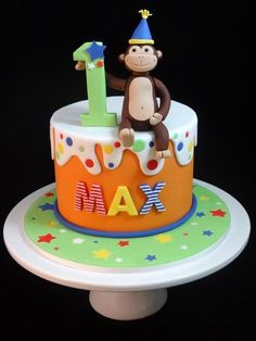 Max's Monkey! Cake by Cakeage