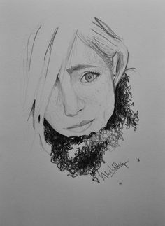 Paola - Pencil drawing/Dessin au crayon/Dibujo a lápiz